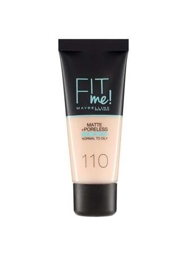 Maybelline Maybelline No:110 Fit Me Matte+Poreless Likid Fondöten Ten